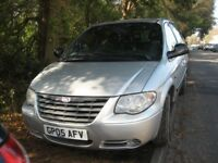 2005 CHRYSLER VOYAGER GRD DIESEL 7 SEATER HISTORY MOT/JULY POSS/PART X