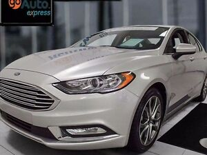 2017 Ford Fusion SE-Certified pre-owned with sunroof.