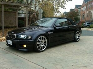 BMW m3 cabriolet convertible