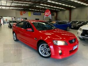 2008 Holden Commodore VE SV6 Red 6 Speed Manual Sedan Laverton North Wyndham Area Preview
