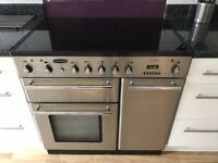 Rangemaster Toledo 90 Electric stainless steel