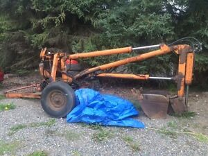 HOPTO DIGGER 105D TRAILER MOUNTED PTO DRIVEN BACKHOE