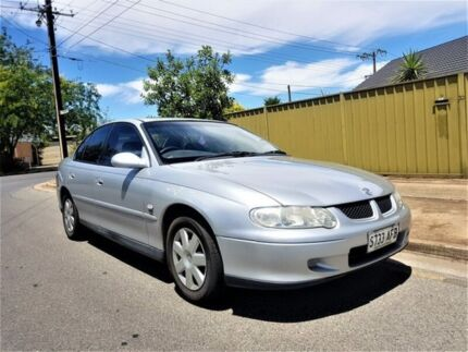 2002 Holden Commodore VX II Equipe Silver 4 Speed Automatic Sedan Medindie Walkerville Area Preview
