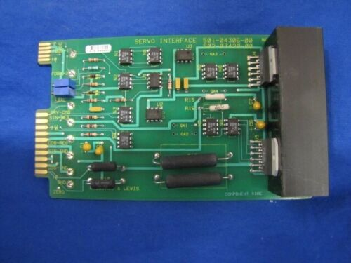 Giddings & Lewis Servo Interface Computer/PC Board, 502-03420-00
