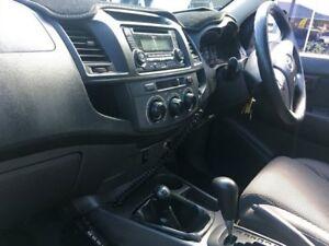 2012 Toyota Hilux KUN26R MY12 SR (4x4) White 4 Speed Automatic Dual Cab Pick-up