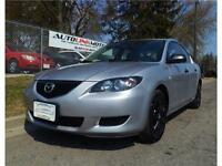 2004 MAZDA 3**AUTO**A/C**SPORT SHIFT & MORE!4 CYL FUEL ECONOMY
