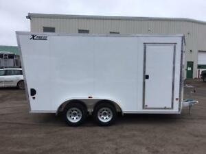 NEW 2018 XPRESS 7.5' x 14' ALUMINUM ENCLOSED TRAILER