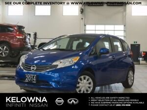 2014 Nissan Versa Note 1.6 SV CVT w/Convenience Package