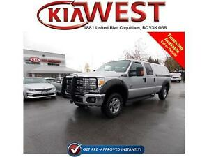 2015 Ford F-250 Crew Cab 4X4 6.7L Power Stroke