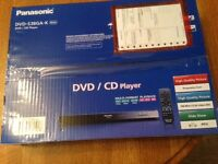 New Panasonic DVD CD Player