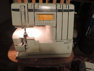 HUSQVARNA VIKING HUSKYLOCK COMPUTERIZED SERGER(PARTS ONLY)