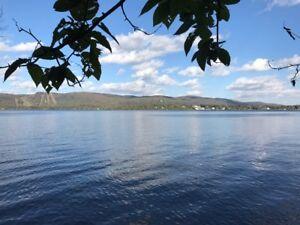 Terrain exceptionnel au bord du majestueux Lac Archambault