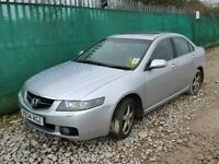 HONDA ACCORD 2.2 2.0 DIESEL AND PETROL BREAKING FOR SPARES TEL 07814971951