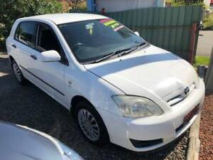 2005 TOYOTA COROLLA / BRAND NEW CLUTCH / 3 MONTHS REGO Redhead Lake Macquarie Area Preview