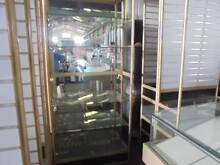 MIRRORED WALL GLASS DISPLAY CABINETS $275es Brendale Pine Rivers Area Preview