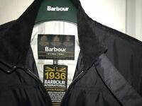 Boys Barbour International Black Lightweight Jacket. Size XL. Excellent Condition - cost £95