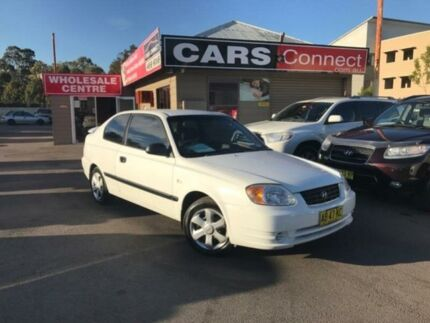 2003 Hyundai Accent LC 1.6 White 5 Speed Manual Hatchback