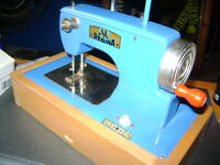 OLD GERMANY MADE TOY SEWING MACHINE