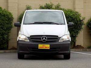2011 Mercedes-Benz Vito 639 MY11 113CDI LWB White 6 Speed Manual Van Blair Athol Port Adelaide Area Preview