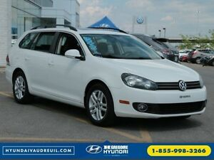2010 Volkswagen Golf Wagon Highline TDI A/C CUIR TOIT PANO MAGS
