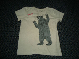 Boys Size 7 Bear Roaring Short Sleeve T-Shirt by ***Hatley**** Kingston Kingston Area image 1