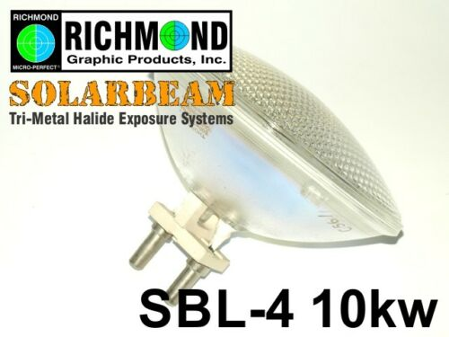 SBL-4 Solarbeam Exposure Light Bulb 10kw for Richmond Graphics ScreenMaker