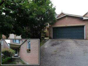 OWN NOW! Brick Detached 3Bdrm Home With Double Garage