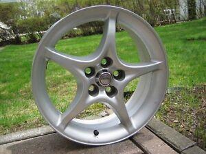 "4x Toyota ""5-Spoke Star"" Mag Wheels (5X100mm)"