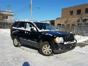 2008 Jeep Grand Cherokee Laredo/CUIR/4X4/DIESEL/TOIT/MAGS/CRUISE