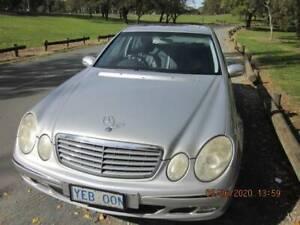 2002 Mercedes-benz E240 Classic 5 Sp Automatic Touchshift 4d S...