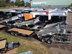 Work & Play: Enclosed, Dump & Utility Trailers - In Stock