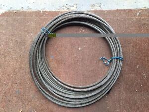 Aircraft cable wire