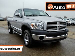 2008 Dodge Ram 1500 ST/SXT 4x4 Quad Cab 140.5 in. WB