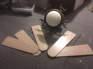 """5-Blade 48"""" Ceiling Fan with Light Kit"""