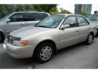2002, Toyota, Corolla , Safety and Emission,