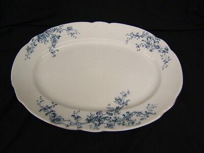 "Vintage Wm Grindley ""Ideal"" Large Platter 18"" Length x 13"" Width"