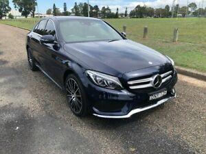 2017 Mercedes-Benz C250 205 MY17 Cavansite Blue 9 Speed Sports Automatic Sedan