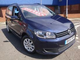 15 VW TOURAN 1.6TDI ( 105ps ) S 7 SEATER ///SNAV//