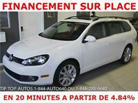 2013 VOLKS GOLF TDI HIGHLINE WAGON **TOIT PANORAMIQUE- CUIR **