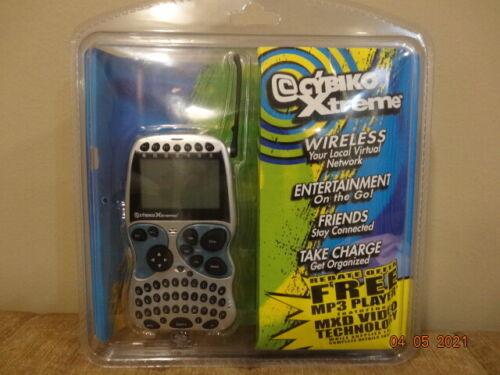Vintage Rare Cybiko Xtreme PDA Wireless Entertainment System NIP NEW SEALED 2001