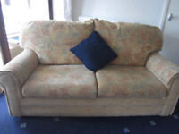 2 seater sofa - excellent condition, removable covers