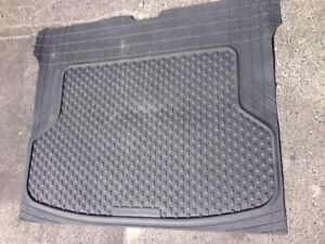 Weather tech Black thick Cargo Mat, LIKE NEW