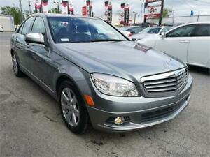 2008 Mercedes-Benz C 230, AWD, ONLY 59746 KM, CUIR, A/C, 2.5L