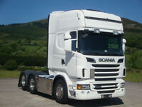 2011 Scania R500 6x2 Topline, Tag, Left Hand Drive