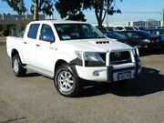 2011 Toyota Hilux KUN26R MY12 SR Double Cab White 4 Speed Automatic Utility Wangara Wanneroo Area Preview