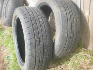 Two Tires 205-50-17 Good Condition