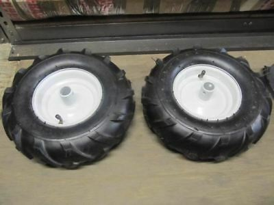 Neilsen Mattis Tiller Replacement Tyre Set. Set of 2 Spare Wheels.