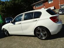2012 BMW 118i F20 Sportline White 8 Speed Automatic Hatchback Sylvania Sutherland Area Preview