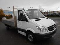 Mercedes-Benz Sprinter 313 CDI LWB 3.5T DROPSIDE DIESEL MANUAL WHITE (2011)
