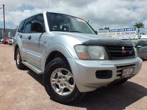 2002 Mitsubishi Pajero NM MY2002 GLS Silver 5 Speed Sports Automatic Wagon Rosslea Townsville City Preview